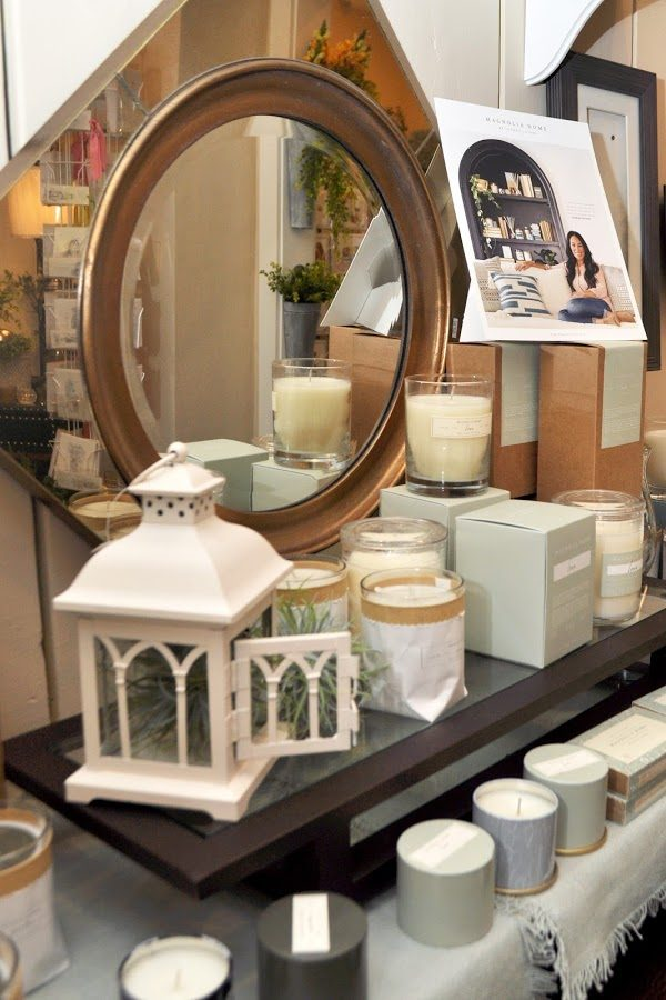 Just Because gifts mirror candles