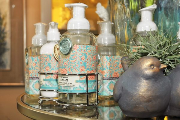 Just Because gifts zoom soap bird